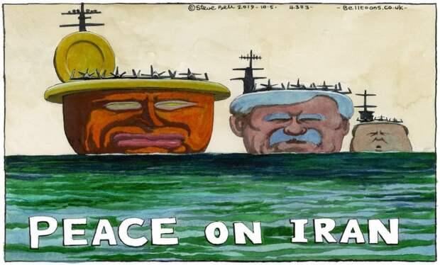 Политика Трампа усиливает Иран, но помогает зарабатывать деньги