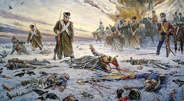 Медицинская служба Великой армии Наполеона: на поле боя