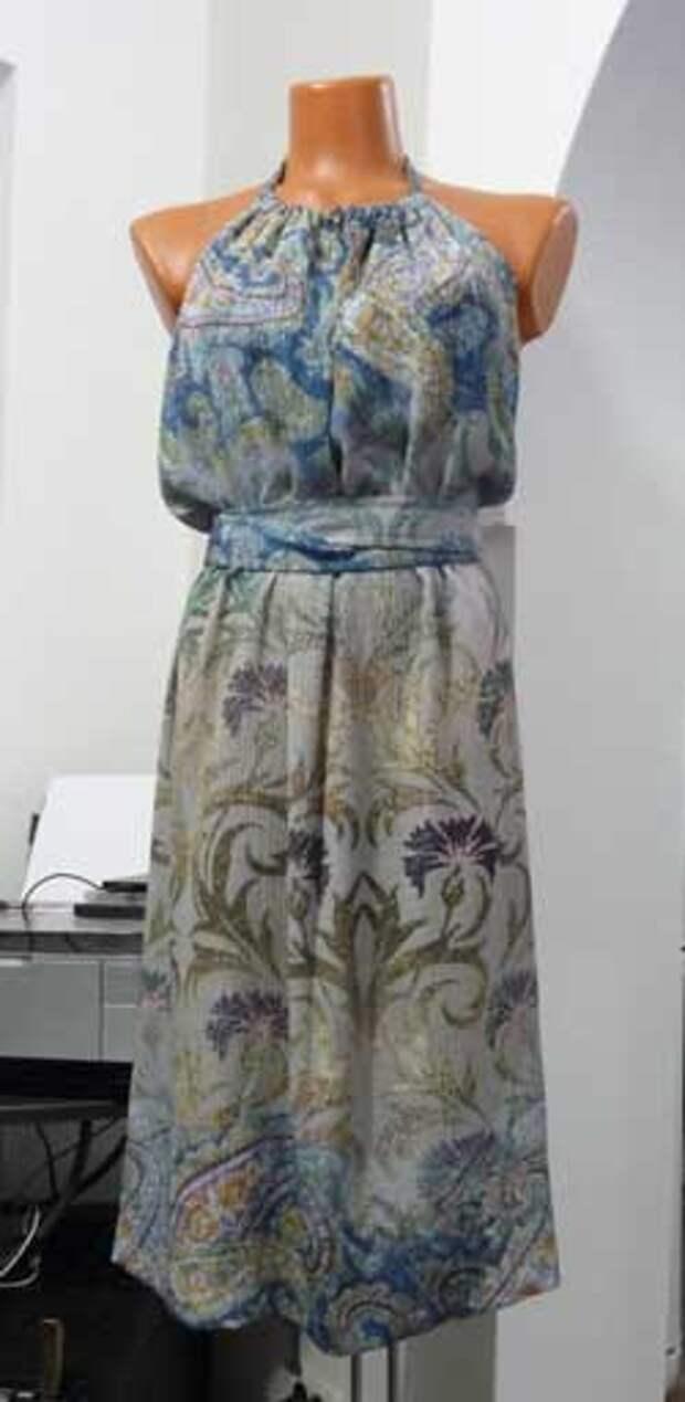 платье - фартук