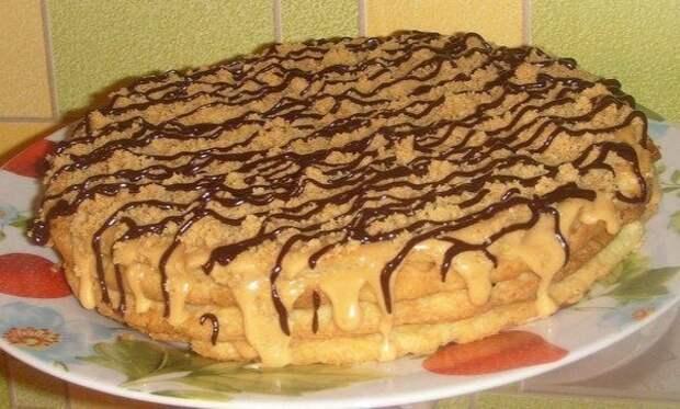 Самый простой и самый быстрый рецепт вкусного тортика