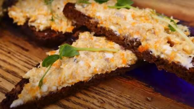 Улетное блюдо из копченой скумбрии