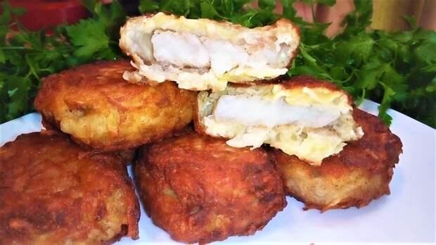 Рыба в картофельной шубе Рыба, Рыба в кляре, Минтай, На ужин, Кулинария, Рецепт, Видео рецепт, Еда, Видео, Длиннопост