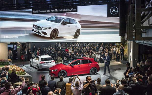 Новый Mercedes-Benz A-класса - видеообзор ЗР