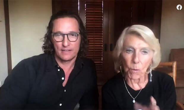 Первое совместное интервью: Мэттью Макконахи и его мама рассказали, почему не общались 8 лет