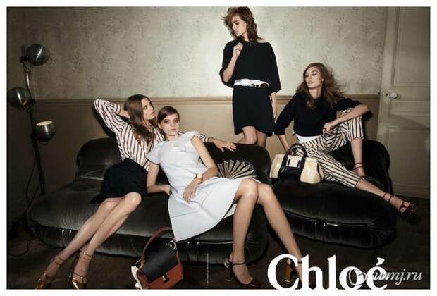 Рекламная кампания Chloe, осень-зима 2013/2014