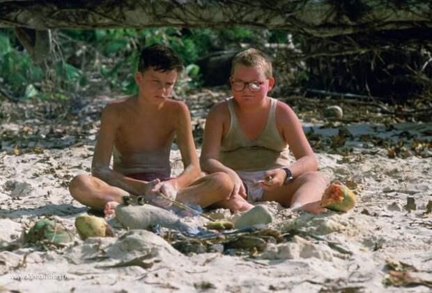 """Кадр из фильма """"Повелитель мух"""" (1990)"""