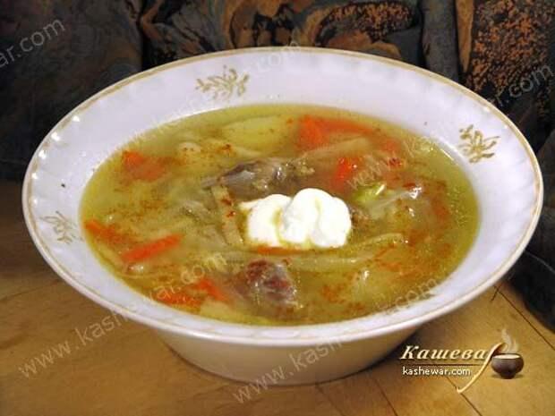 Борщ из потрохов – рецепт с фото, молдавская кухня