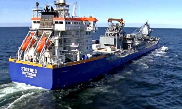 Иностранное судно присоединилось к строительству «Северного потока-2»