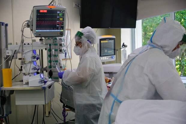 В России выявили 19 744 новых случаев коронавируса