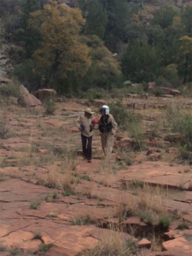 Американская пенсионерка выжила, потерявшись в горах на 9 дней