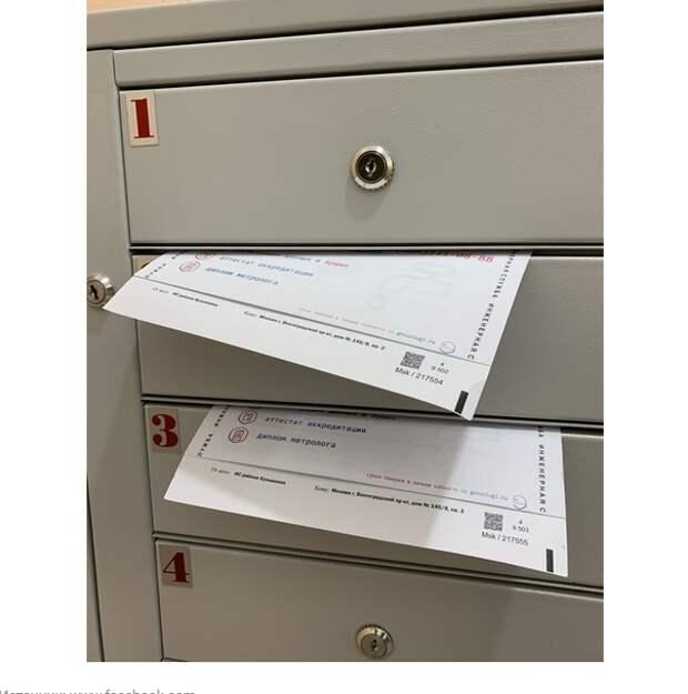 В почтовых ящиках Кузьминок обнаружились «липовые» документы