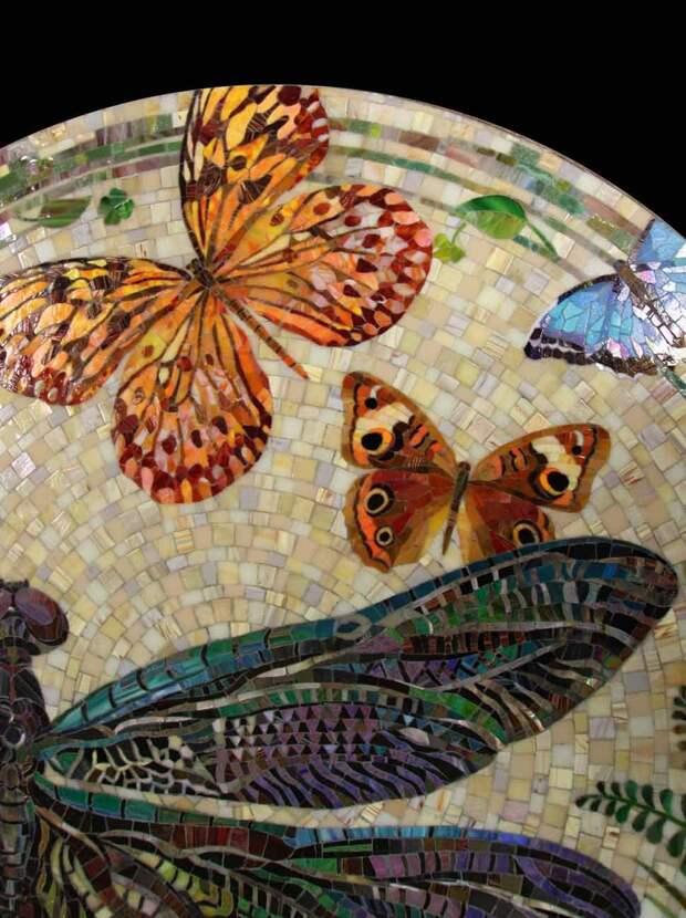 Мозаичный столик 2