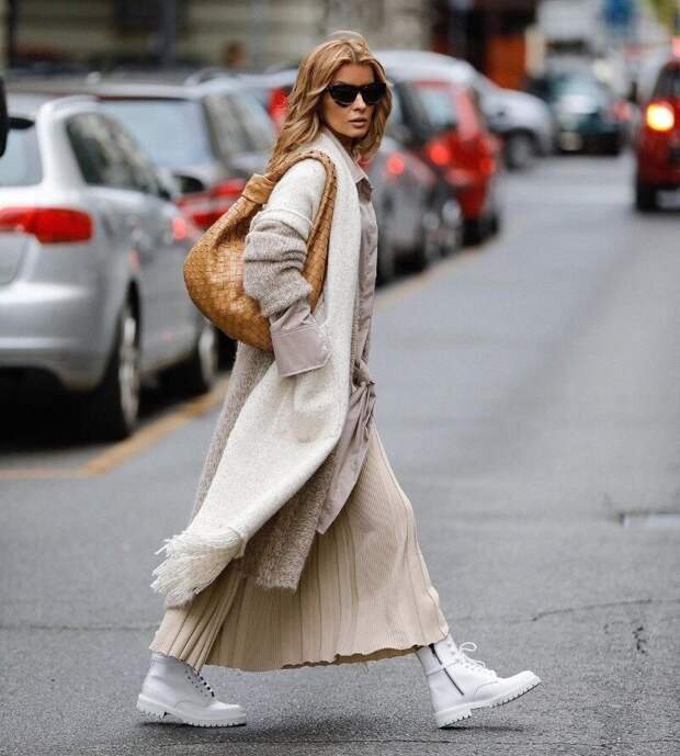 Какие юбки носят сейчас в Европе элегантные женщины