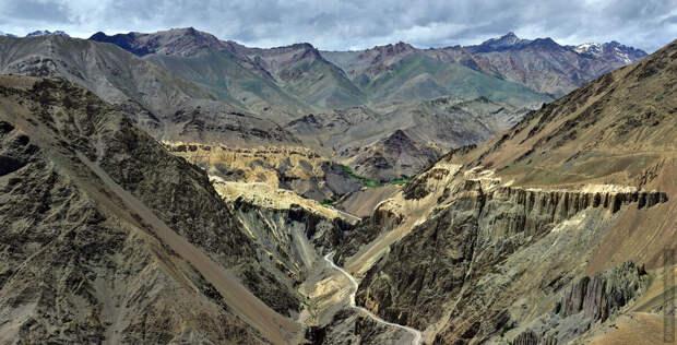 Долины в горах