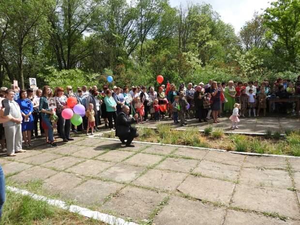 Перекличка фронтовиков: в селе Восход отметили День Победы