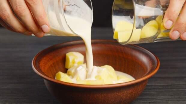 Картинки по запросу Стакан сырой картошки и немного ряженки... Забытый деревенский рецепт!