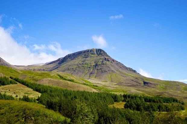 Гора Эсья, Исландия