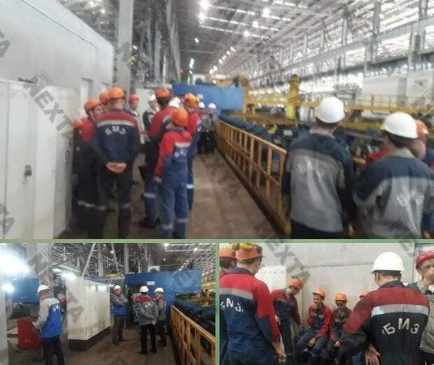 В Белоруссии крупный завод начал забастовку.