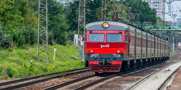Электрички от станции «Останкино» проследуют по измененному расписанию
