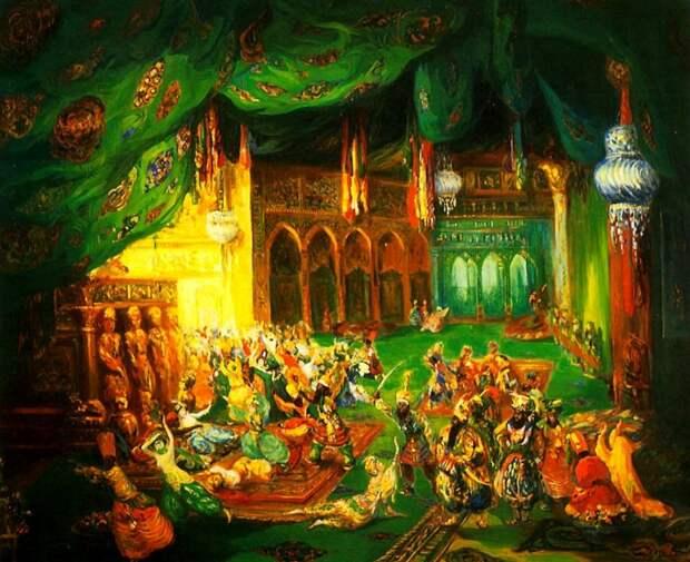 10 театральных художников Серебряного века. Лев Бакст