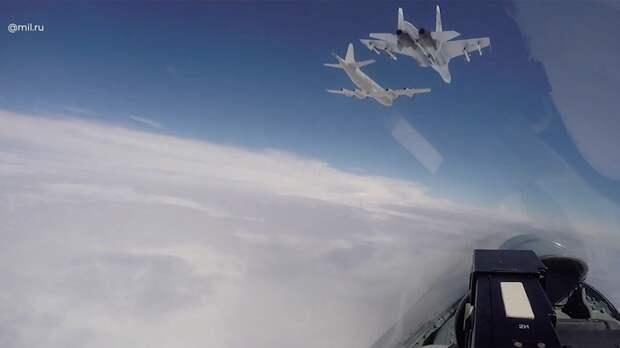 Перехват самолета ВВС США у границы России в Черном море. Источник изображения: https://gorodovoy.ru