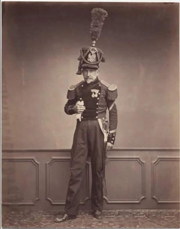 Месье Лефебре, сержант второго инженерного полка 1815. Фото: Brown University Library.