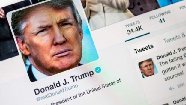 Трамп отреагировал наблокировку своего аккаунта вTwitter