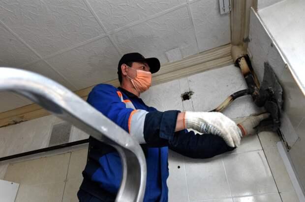 В ряде домов Свиблова обновили газовое оборудование