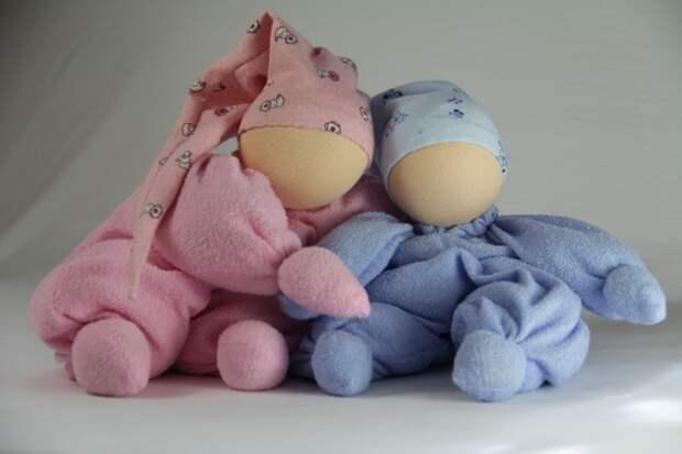 Вальдорфские куклы-бабочки. Фото / Waldorf doll. Photo