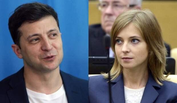 Поклонская поддержала Зеленского в желании упрятать Порошенко за решетку