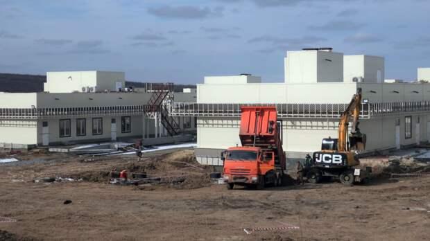 Полгода строили инфекционную больницу вРостове без утвержденного проекта