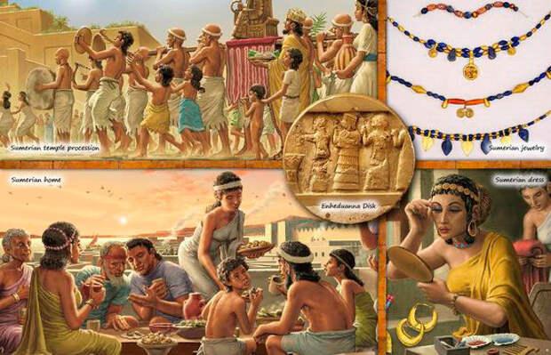 кто такие Шумеры? Это первая цивилизация на Земле.