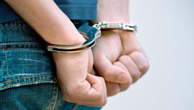 В Подольске задержали подозреваемого в разбойном нападении на женщину