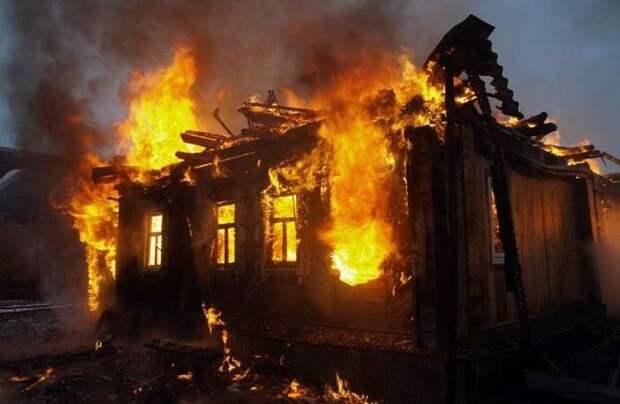 Мистическая картина, вызывающая пожары