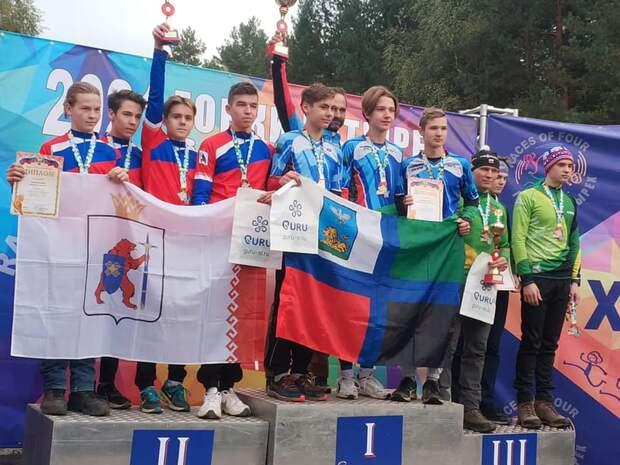 Школьники из Северного заняли третье место в соревнованиях по спортивному туризму