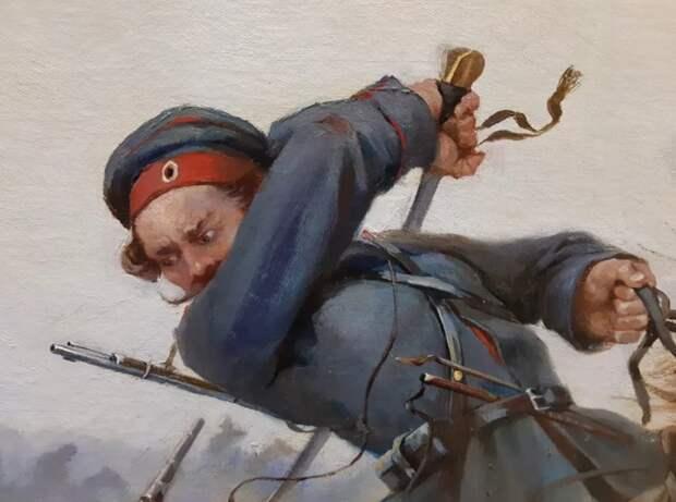 Казаки пришли в остервенение в битве с работорговцами