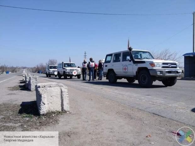 В Красном Кресте рассказали, как преодолели границы с Украиной для помощи ДНР