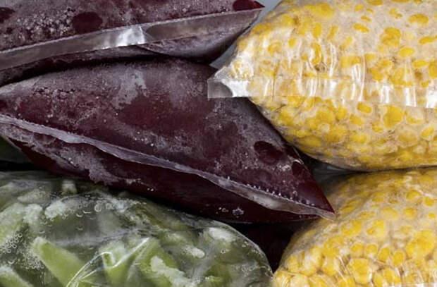 Глупые мифы о замороженных продуктах
