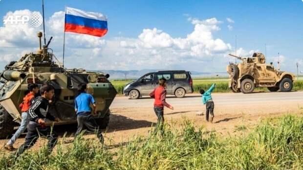 Avia.pro: российские военные впервые перекрыли дорогу конвою США в Сирии
