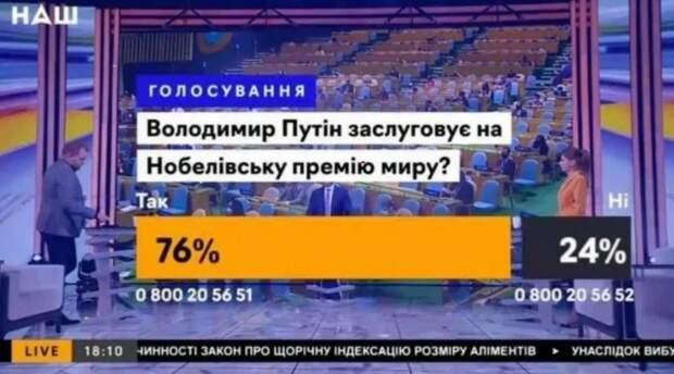 Из-за Путина на украинском ТВ разгорелся скандал