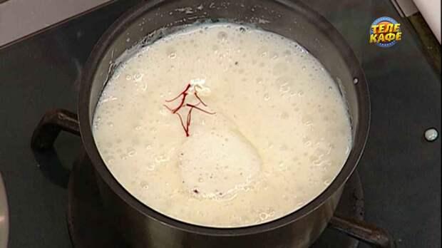 Кокосовый соус со сгущённым молоком