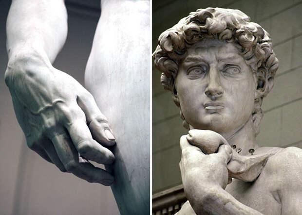 Как выглядит статуя обнаженного Давида во всех подробностях на расстоянии вытянутой руки