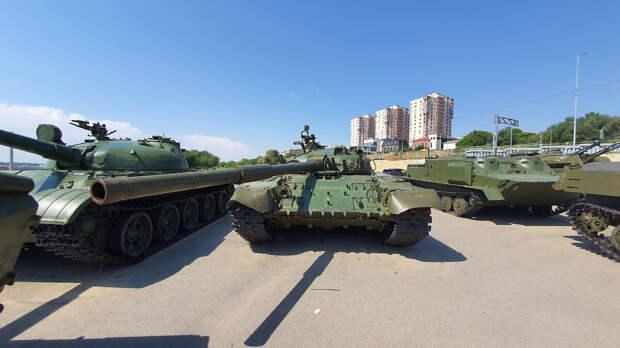 Парк военной техники в Волгограде