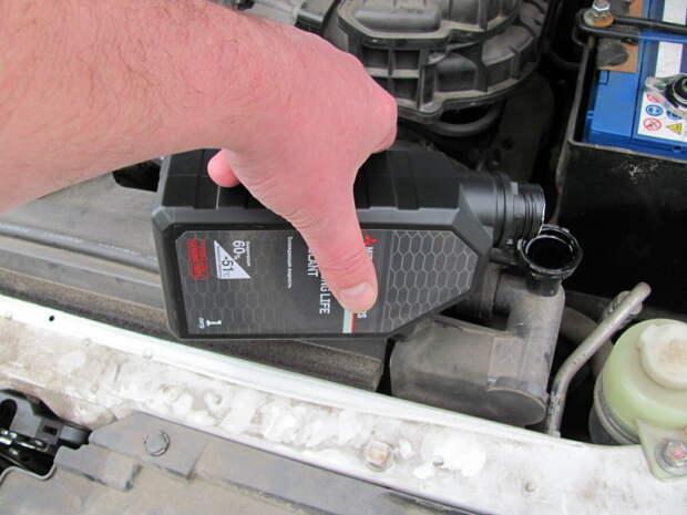 Как найти место протечки охлаждающей жидкости?