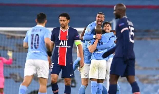 «Манчестер Сити» - «ПСЖ» - 2:0. Видео матча и обзор голов