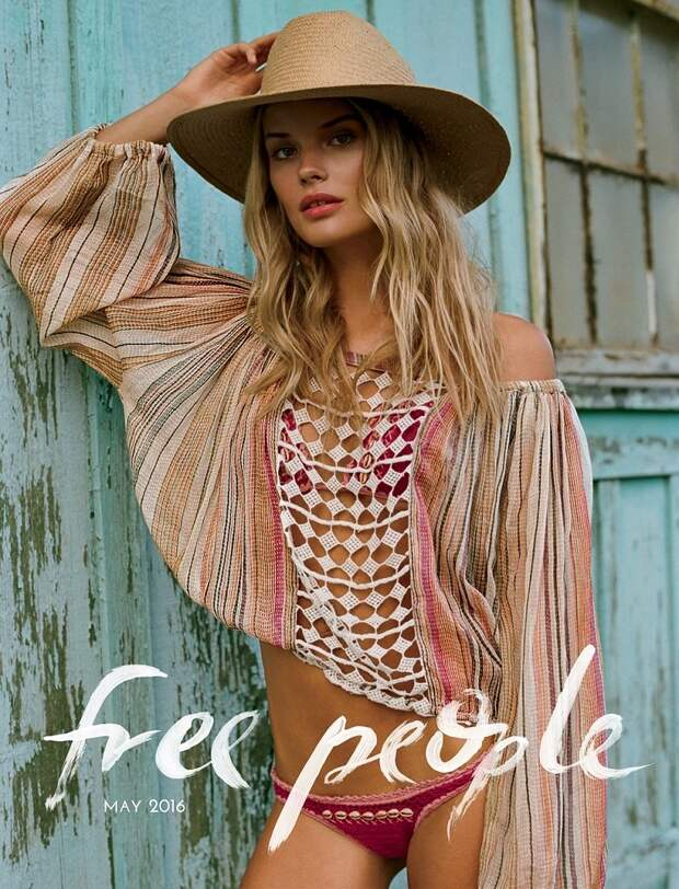 лукбук Free People май 2016
