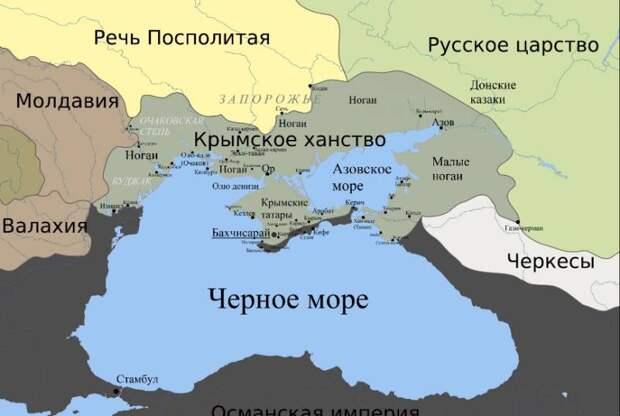 19 апреля – День принятия Крыма, Тамани и Кубани в состав Российской империи