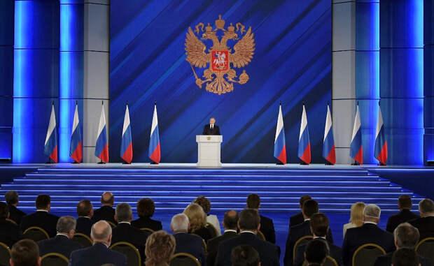 Александр Роджерс: Внешняя политика в послании Путина Совету Федерации