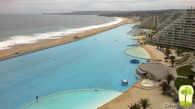 Самый большой бассейн в мире - Сан Альфонсо дель Мар, Чили - 5