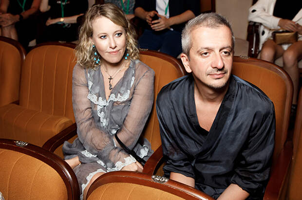 Ксения Собчак и Константин Богомолов